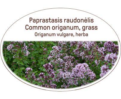 Common origanum, grass / Origanum vulgare, herba