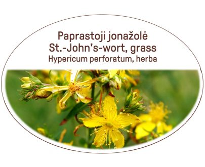 St.-John's-worth, grass / Hypericum perforatum, herba